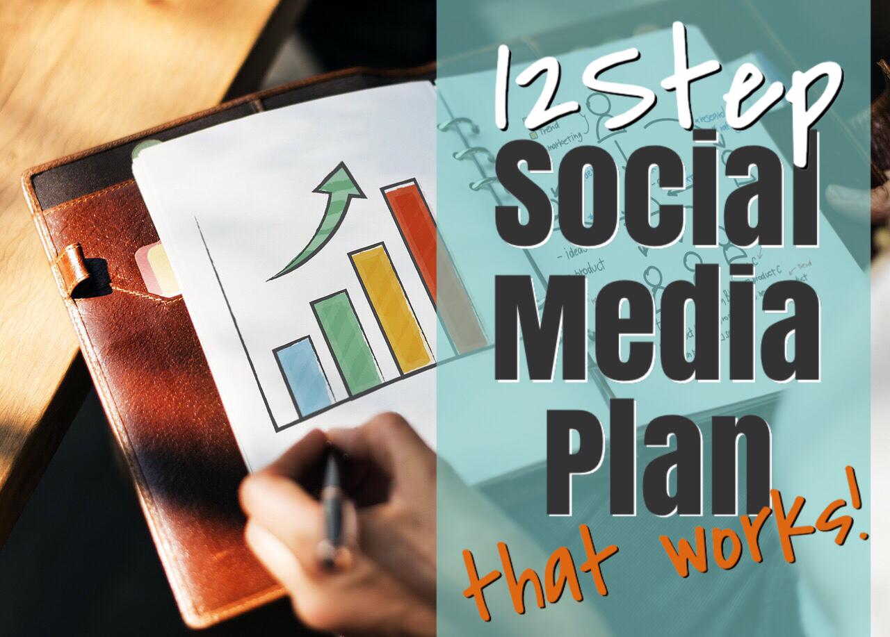 12 Step Social Media Plan That Works!