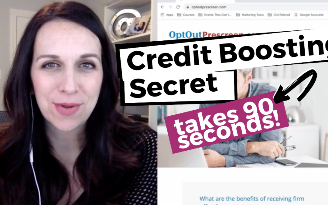 VIDEO: Boost Your Credit Score (in 90 seconds)